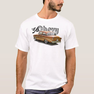 "T-shirt 1856 de ""courrier"" de Chevy"