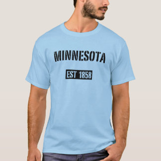 T-shirt 1858 d'est du Minnesota