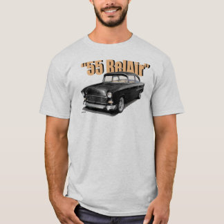 "T-shirt 1955 de ""courrier"" de Chevy BelAir"