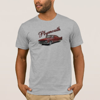 T-shirt 1960 de fureur de Plymouth