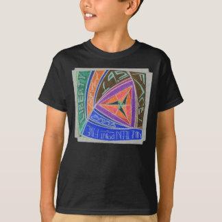 T-shirt 19,5 Version d'Argent-Inversion de Visage-Martien