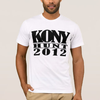 T-shirt 2012 de chasse à Kony