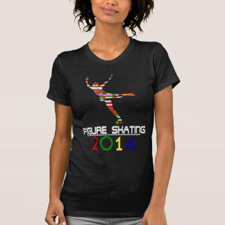 T-shirt 2014 : Patinage artistique