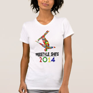 T-shirt 2014 : Ski de style libre