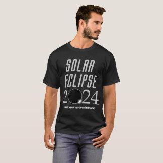 T-shirt 2024 d'éclipse solaire