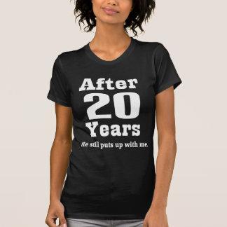 T-shirt 20ème Anniversaire (drôle)