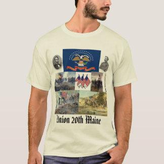 T-shirt 20ème Guerre civile volontaire de régiment