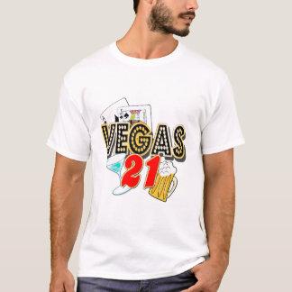 T-shirt 21ème anniversaire de Vegas