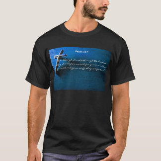 T-shirt 23:4 de psaume