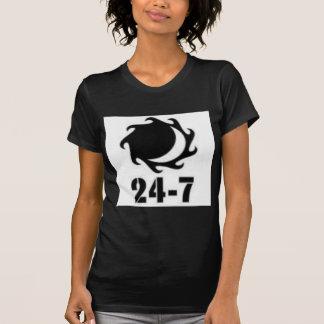 T-shirt 24-7+logo