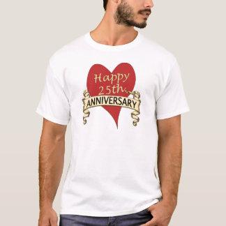 T-shirt 25ème. Anniversaire