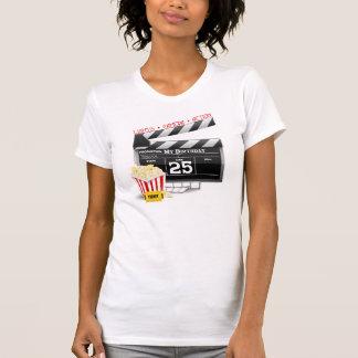 T-shirt 25ème Partie de film de Hollywood d'anniversaire
