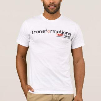 T-shirt (2) des hommes de transformations de TEDxRainier