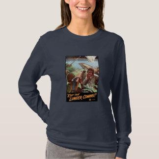 T-shirt 2ÈME GUERRE MONDIALE -- Gardez ce venir de bois de