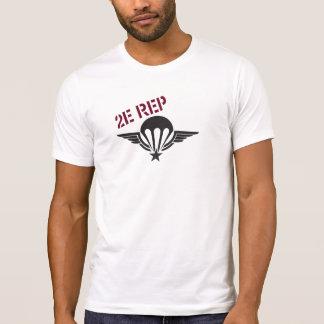 T-shirt 2nd Foreign parachute le régiment 2e MENTIONNE