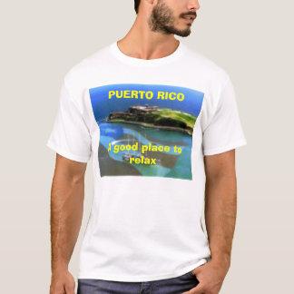 T-shirt 3132482737, bon endroit de PUERTO RICOA à détendre