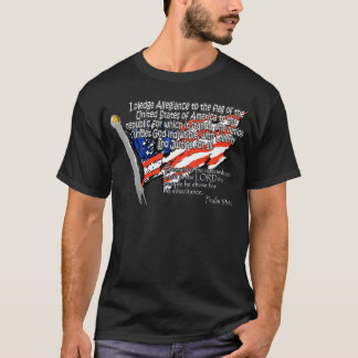 T-shirt 33:12 de psaume de serment de fidélité