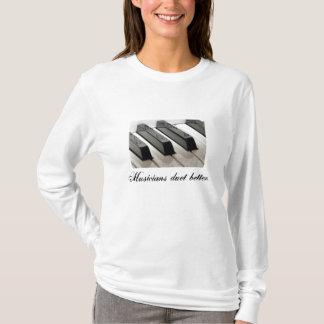 T-shirt 34xqalf, duo de musiciens mieux