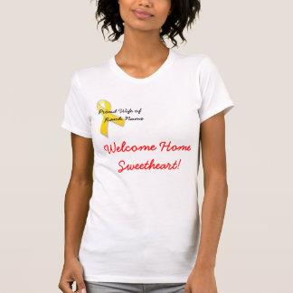 T-shirt 370px-Yellow_ribbon.svg, épouse fière de, Na