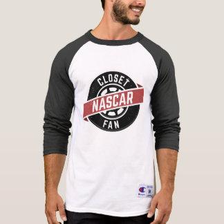 T-shirt 3/4 chemise de ClosetNASCARFan de douille