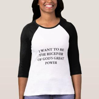 T-shirt 3/4 chemise religieuse de douille