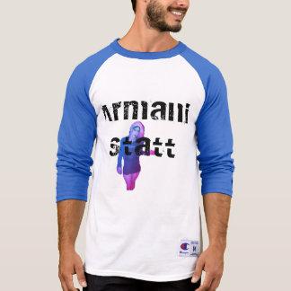 T-shirt 3/4 pièce en t Armani Statt des hommes
