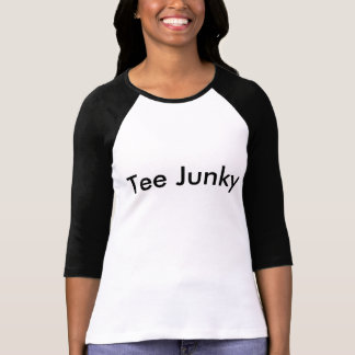 T-shirt 3/4 pièce en t de la douille des femmes