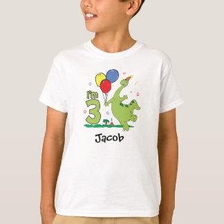 T-shirt 3ème anniversaire de Dino