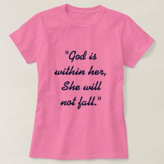 T-shirt 46:5 de psaume