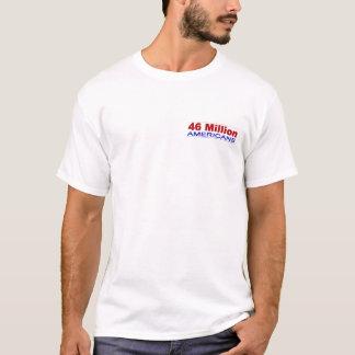 T-shirt 46 millions d'Américains n'ont pas l'assurance