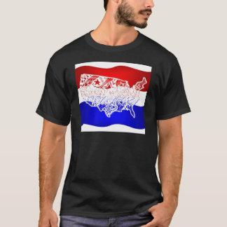 T-shirt 4 de juillet Etats-Unis