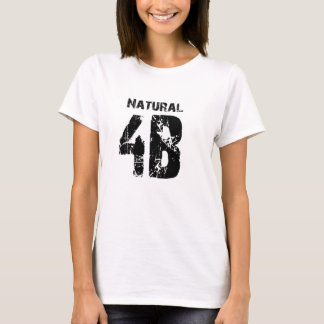 T-shirt 4B naturel