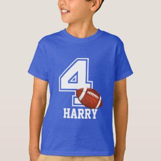 T-shirt 4ème Le football personalized-2 de garçon