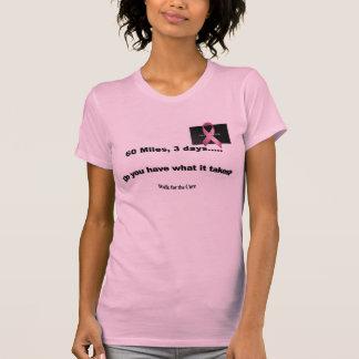 T-shirt 60 milles plus de 3 jours