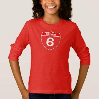 T-shirt 6ème Anniversaire