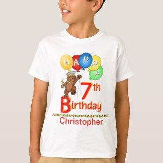 T-shirt 7ème Nom majestueux de coutume de Beary de