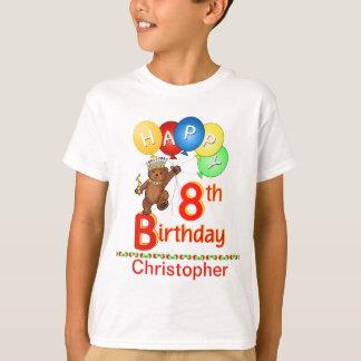 T-shirt 8ème Nom majestueux de coutume de Beary de