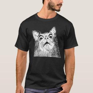 T-shirt 9GAG quelle sorcellerie est ce chat