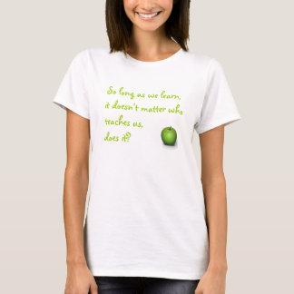 T-shirt À condition que nous apprennions
