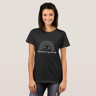 T-shirt À fond gris est mon arc-en-ciel