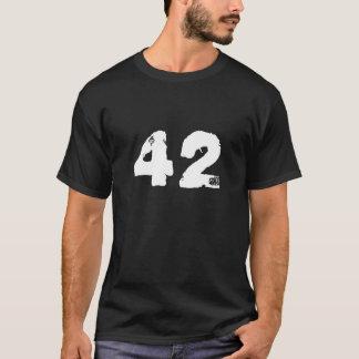 T-shirt à la chemise de la galaxie quarante-deux