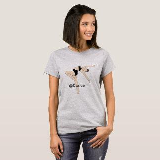 T-shirt À la chemise des femmes grises de danse