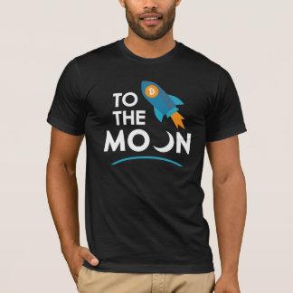 T-shirt À la lune Cryptocurrency
