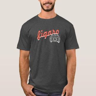 T-shirt à la mode de Monoline de voiture de Figaro