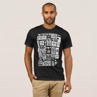 T-shirt à la mode de POIDS de PAGA