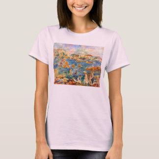 T-shirt À la plage de Guernesey par Alfred Sisley