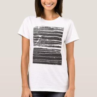 T-shirt à l'encre noire frais