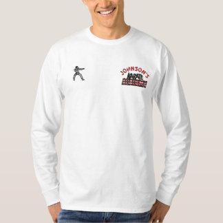 T-shirt À Manches Lomgues Brodée Académie brodée de karaté