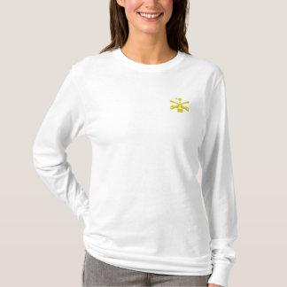 T-shirt À Manches Lomgues Brodée Cavalerie de la Caroline du Sud (brodée)
