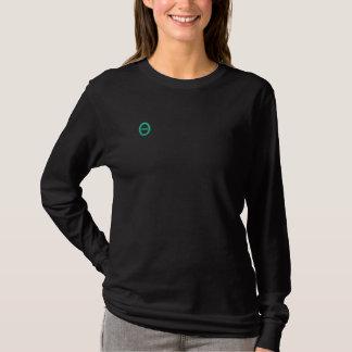 T-shirt À Manches Lomgues Brodée Les longues douilles de sororité, customisent les